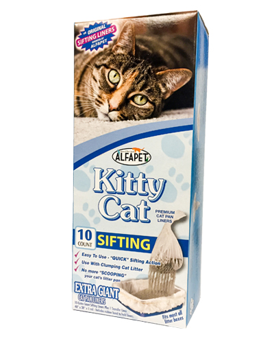 AlfaPet Sifting Kitty Cat Pan Liners